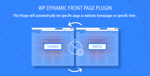 WordPress Dynamic Front Page Plugin