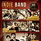 Indie Band Flyer / Poster - GraphicRiver Item for Sale
