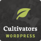 Cultivators - WordPress Gardening Design - ThemeForest Item for Sale