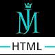 MJ - Creative Resume Template - ThemeForest Item for Sale