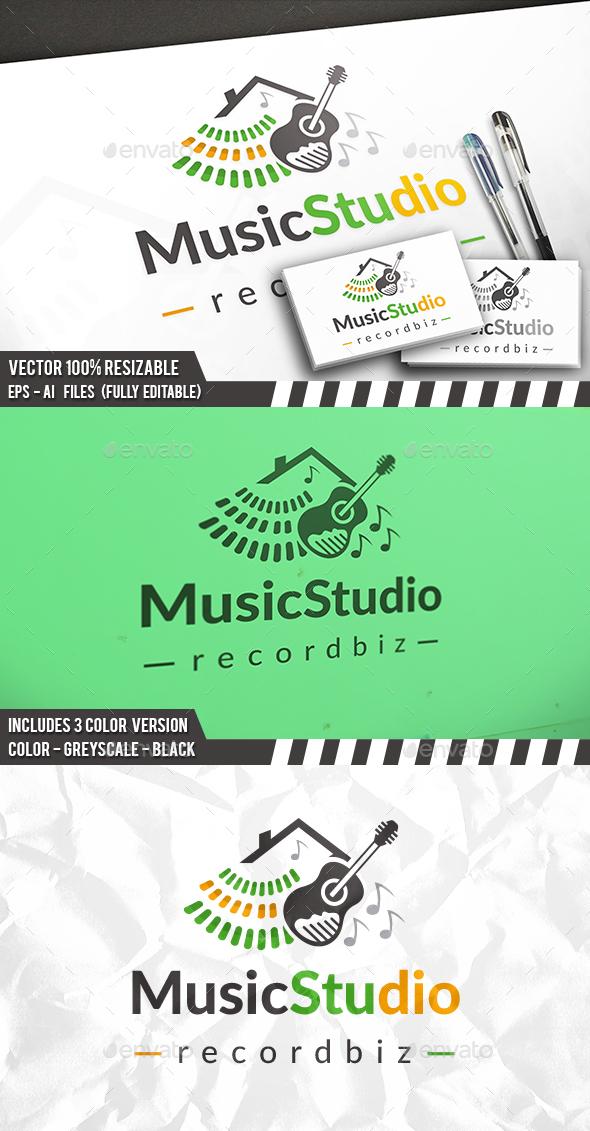 Music Studio Logo