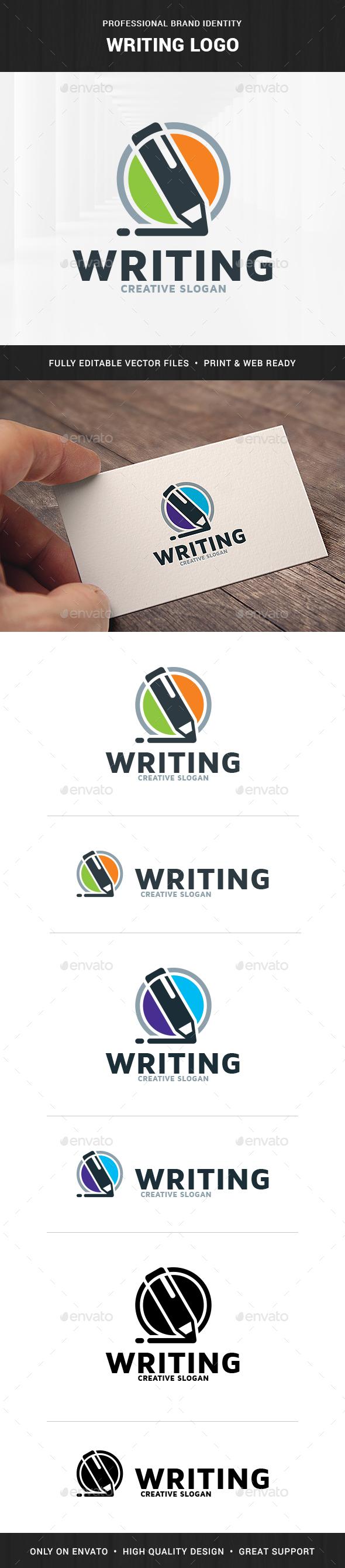 Writing Logo Template