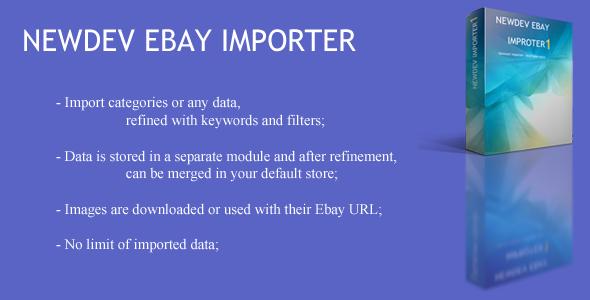 OpenCart Ebay Importer