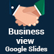 Business view Google Slides Presentation Template - GraphicRiver Item for Sale