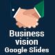 Business vision  Google Slides Presentation Template - GraphicRiver Item for Sale