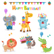 Collection of Birthday Animals - GraphicRiver Item for Sale