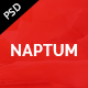 Naptum - One Page Parallax PSD Template - ThemeForest Item for Sale