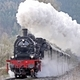 Steam Train Stopping