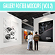 Gallery Poster MockUp ( Vol 2) - GraphicRiver Item for Sale