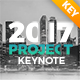 2017 Project Keynote Presentation - GraphicRiver Item for Sale