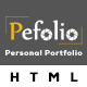 Pefolio - Landing Page HTML Template - ThemeForest Item for Sale