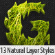 Garden Layer & Text Styles - GraphicRiver Item for Sale