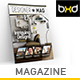 Magazine Template - InDesign 40 Page Layout V8 - GraphicRiver Item for Sale