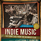 Indie Music Flyer / Poster - GraphicRiver Item for Sale