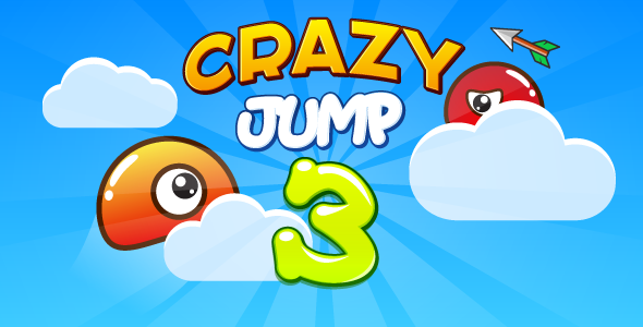 Crazy jump 3 - HTML5 game. Construct 2 (capx) + mobile + ADS Download