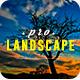 Pro Landscape Lightroom Presets - GraphicRiver Item for Sale