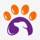 Pet Paw Logo Template - GraphicRiver Item for Sale