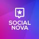 Social Nova PowerPoint Template - GraphicRiver Item for Sale