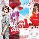 Bundle Flyer Valentine Day 01 - GraphicRiver Item for Sale