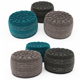Pouf collection 11 - 3DOcean Item for Sale