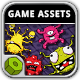 Virus Attack Game Assets - GraphicRiver Item for Sale