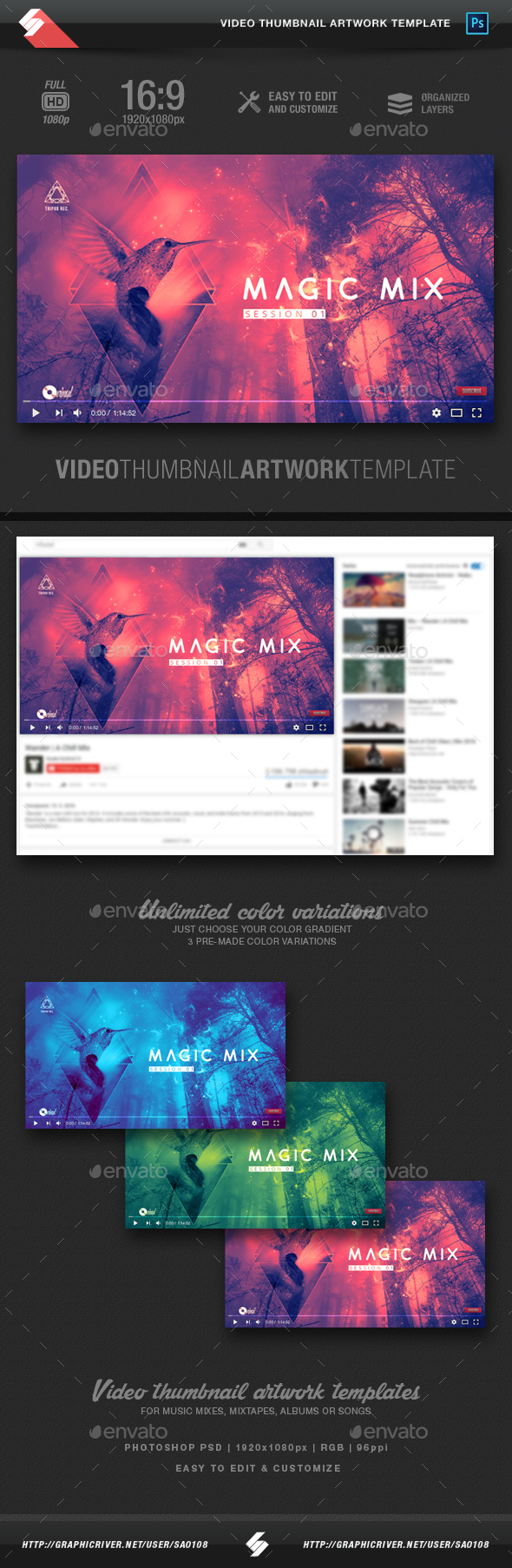Mix Web Elements from GraphicRiver