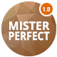 Mister Perfect - Minimal CV/Resume PSD Template - ThemeForest Item for Sale