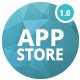 APP STORE - App Landing Page PSD Template - ThemeForest Item for Sale