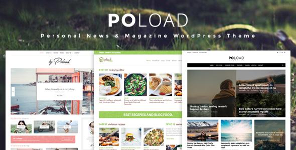 POLOAD – Fashion, Food, Baby, Blog WordPress Theme