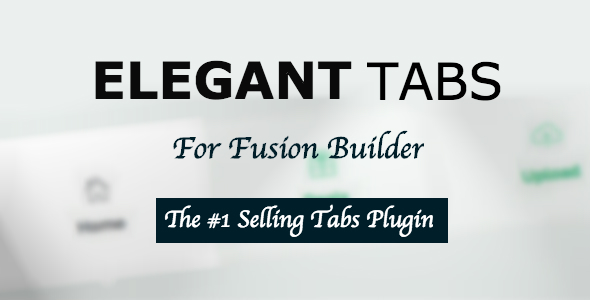 Elegant Tabs for Fusion Builder and Avada Download
