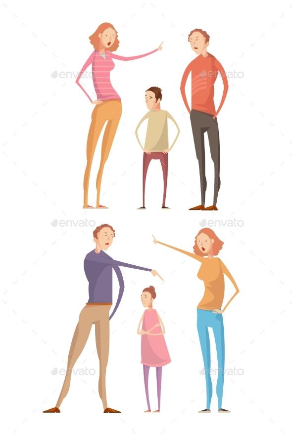 Parents Abuse Child Compositions