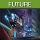 Future City Night - AudioJungle Item for Sale