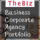 TheBiz-One and Multi Page Responsive Portfolio , Corporate, Business, Creative and Blog Template - ThemeForest Item for Sale