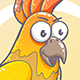 Drawn Cartoon Parrot - GraphicRiver Item for Sale