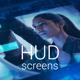 HUD Screens - VideoHive Item for Sale