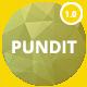 PUNDIT - Creative Agency Portfolio Template - ThemeForest Item for Sale