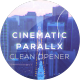 Cinematic Clean Parallax Opener   Slideshow - VideoHive Item for Sale