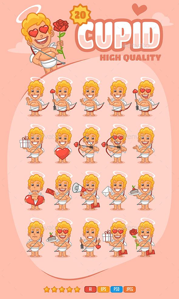 Cupid Mascot Pack