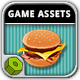 Burger Time Game Assets - GraphicRiver Item for Sale