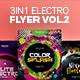 3 in 1 - Electro Flyer V.2 - GraphicRiver Item for Sale