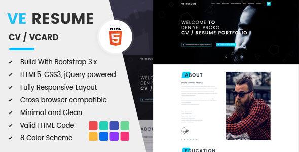 Resume / CV / vCard