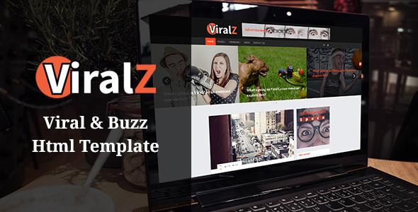 Viralz - Viral & Buzz Html Template