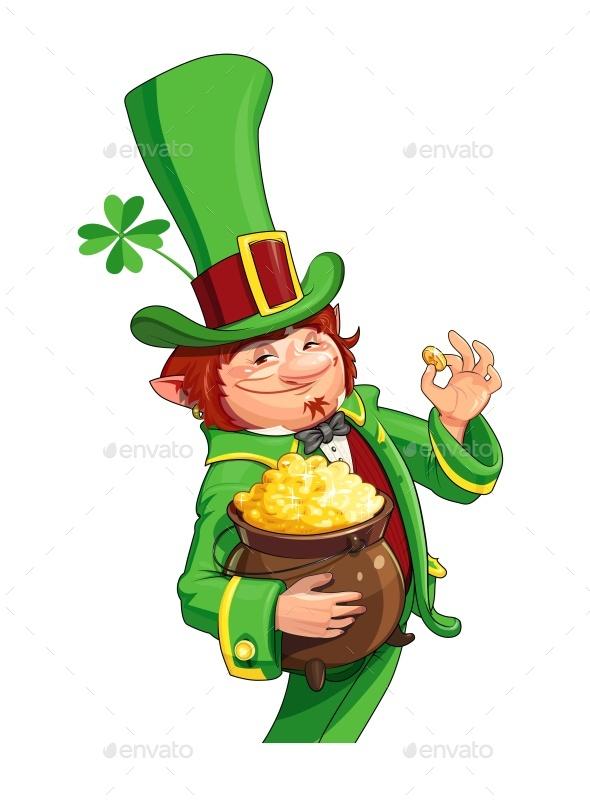 Gnome Leprechaun Fairy-tale Character
