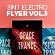 3 in 1 - Electro Flyer V.3 Bundle - GraphicRiver Item for Sale