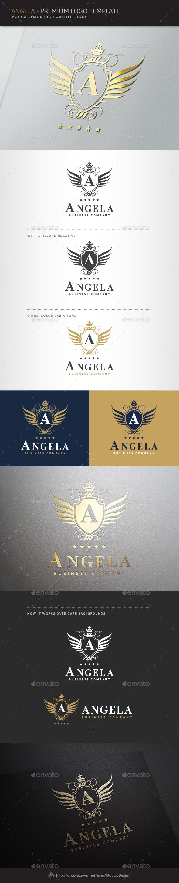 Angela Logo