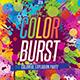 Color Burst - Flyer Template - GraphicRiver Item for Sale