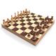 Wobble chess set - 3DOcean Item for Sale