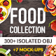 Food Pro Collection 300 Mockup & Hero Images - GraphicRiver Item for Sale