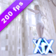 Young Woman Stretching At Window Wearing Underwear - VideoHive Item for Sale