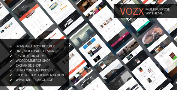Vozx - Multipurpose & Event WordPress Theme